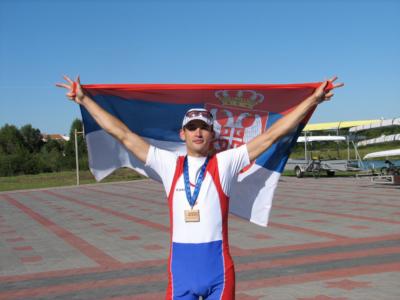 Miloš Stanojević, bronza na Evropskom, Brest, Belorusija, 2009.
