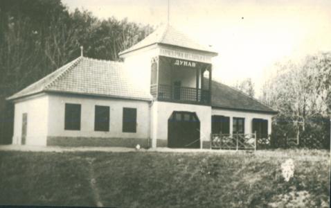"""Zgrada """"Pančevačkog veslačkog kluba Dunav"""" sazidana 1923. god."""