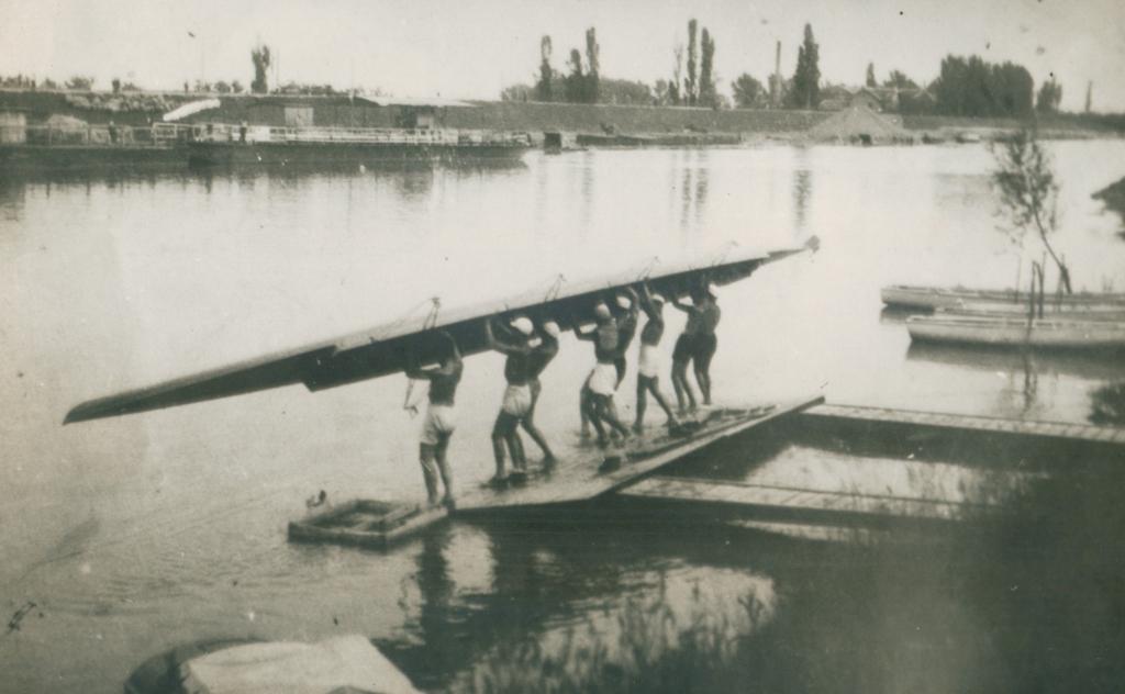 Prvi osmerac u Pančevu, 1931.