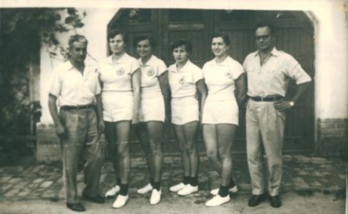 Ženski četverac, Miloš Đonin, ...., Milivoj Kojić, 1954.
