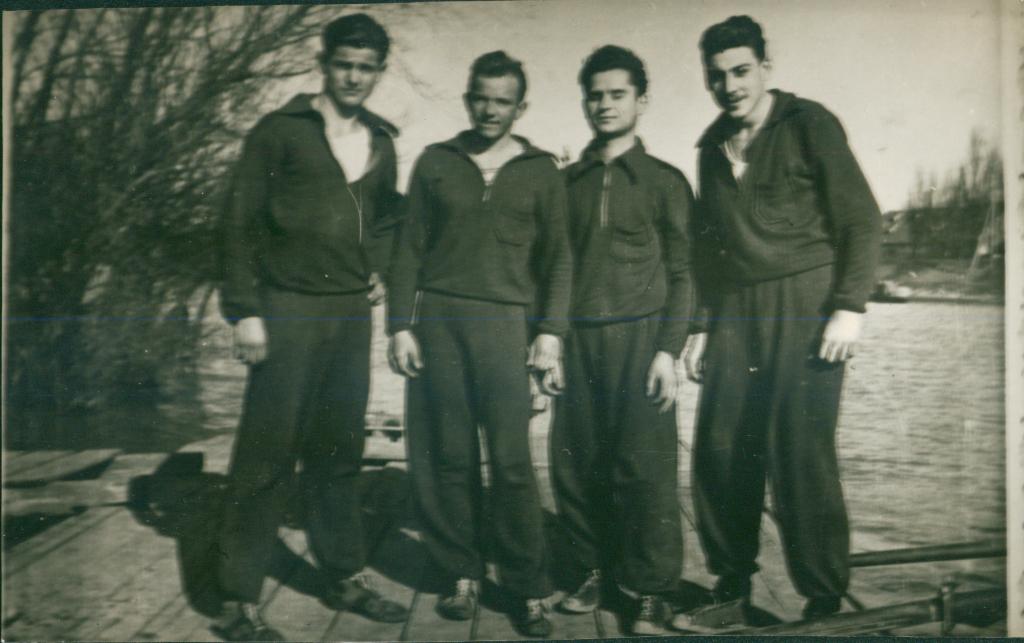 Četverac bez, ?,Dušan Rakić,?,?, 1954