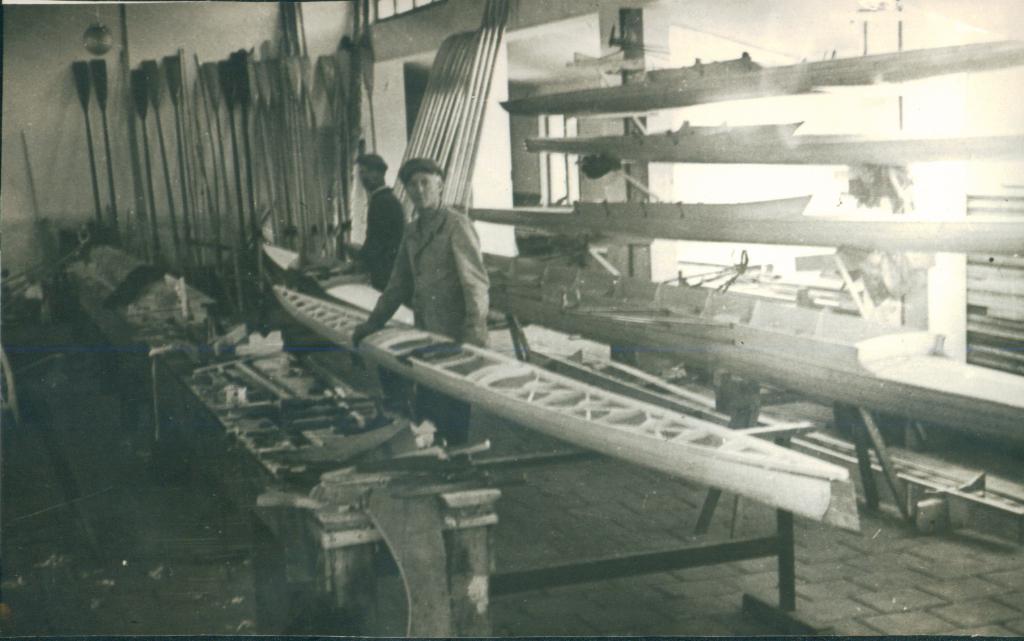 Radionica za čamce, ?, 1955.
