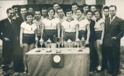 Veslači sa upravom, 1957.