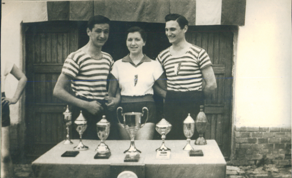 Kosta Kolesković, Vera Stepanov, Borislav Andrejević, 1960.