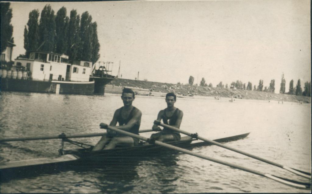 Dubl-skul, Borislav Andrejević, Kosta Kolesković, 1956.