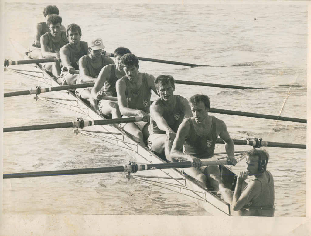 Četverac sa kormilarom, Branko Jovanović, Novica Jovanović, Milenko Jeftić, Jovan Opačić, kor. Milan Todorović, 1973.