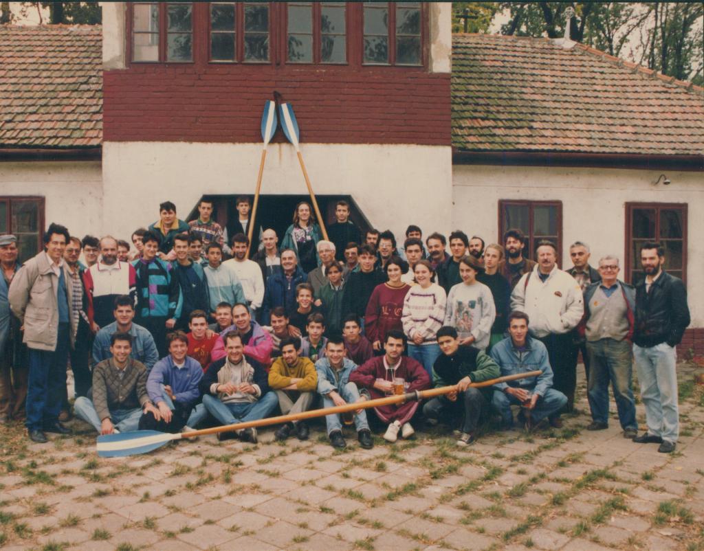 Okupljanje veslača, 1992.