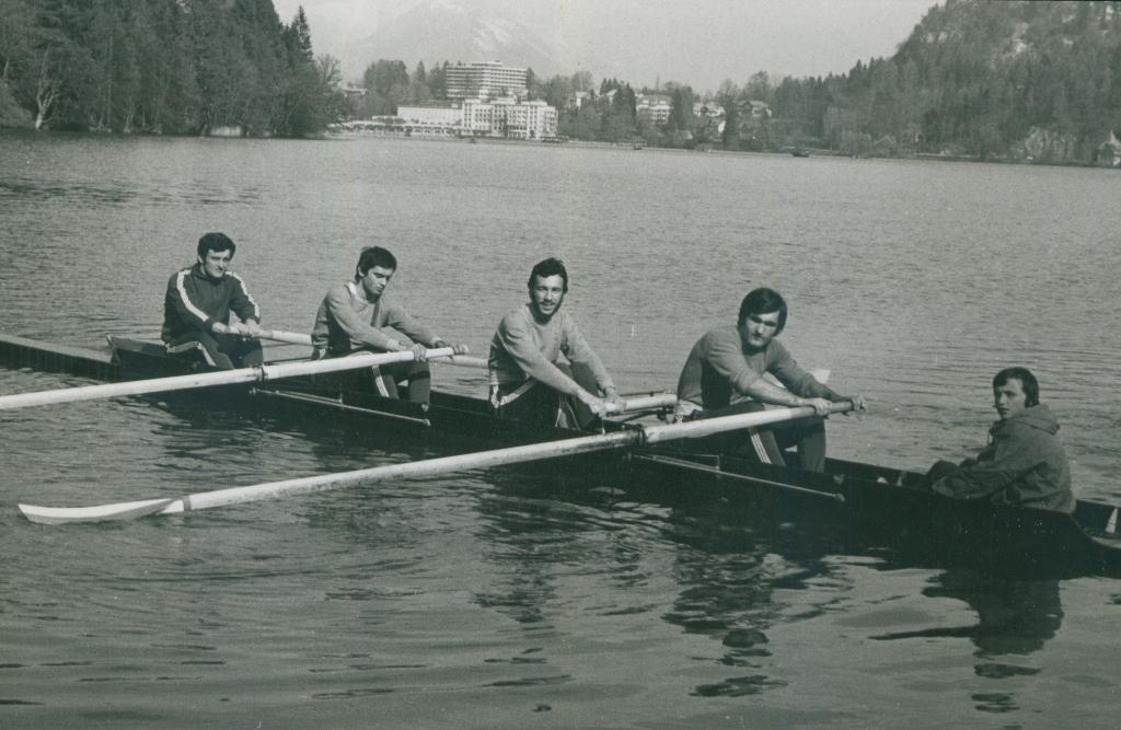 Četverac sa kormilarom, Branimir Matijević, Novica Jovanović, Jovan Opačić, kor. Milan Todorović, Bled 1976.