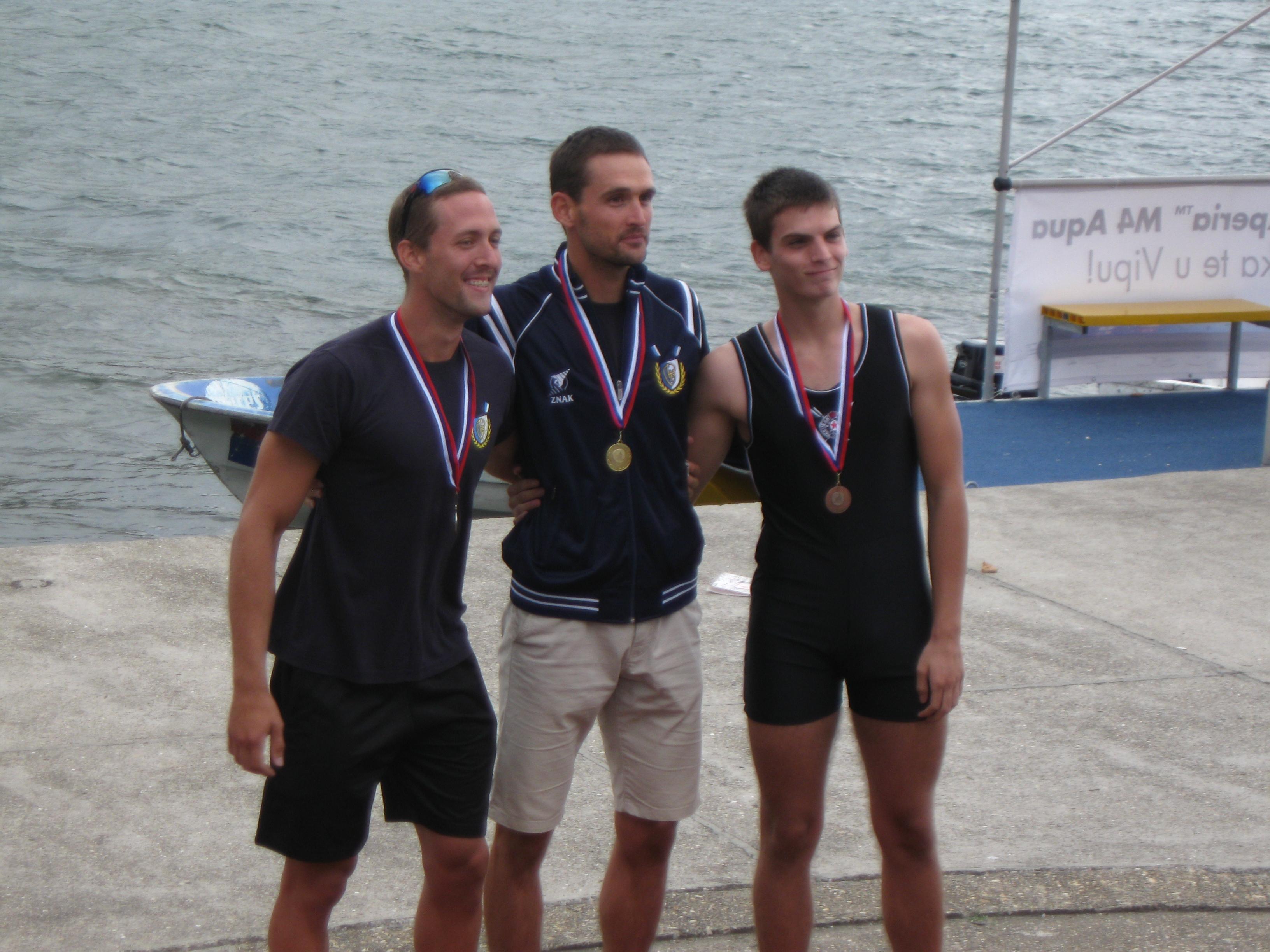 Zlato za Miloša, srebro za Mihajla u skifu za lake veslače